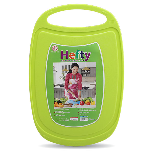Hefty Chopping Board - Lime green